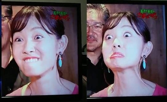 田中瞳変顔