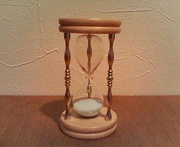 夜光砂時計