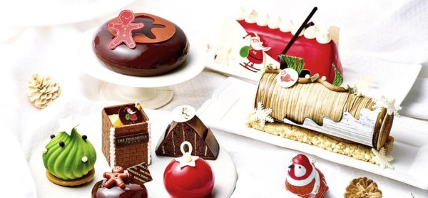ザペニンシュラ東京クリスマスケーキ